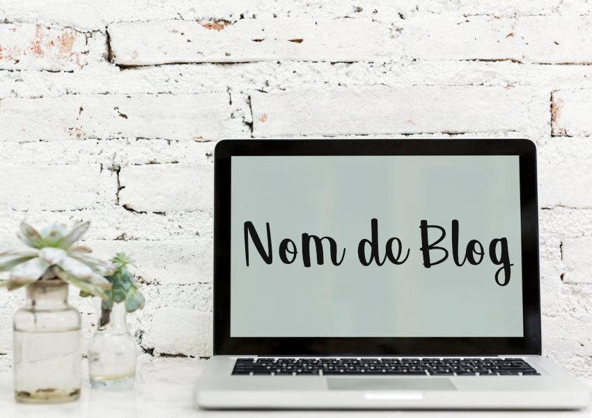 trouver le nom de son blog