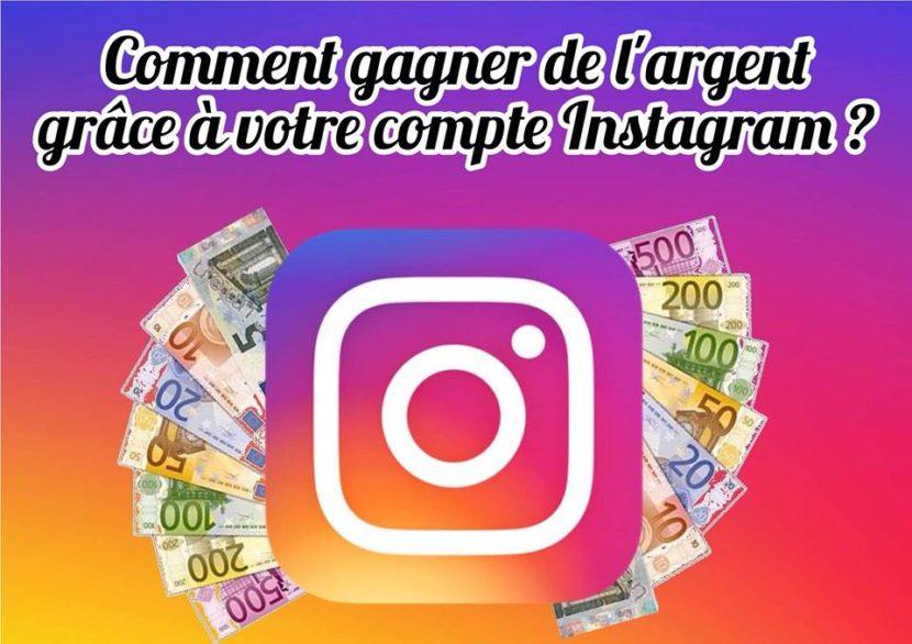 gagner de l argent sur instagram